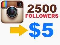 Buy Instagram Followers For $5