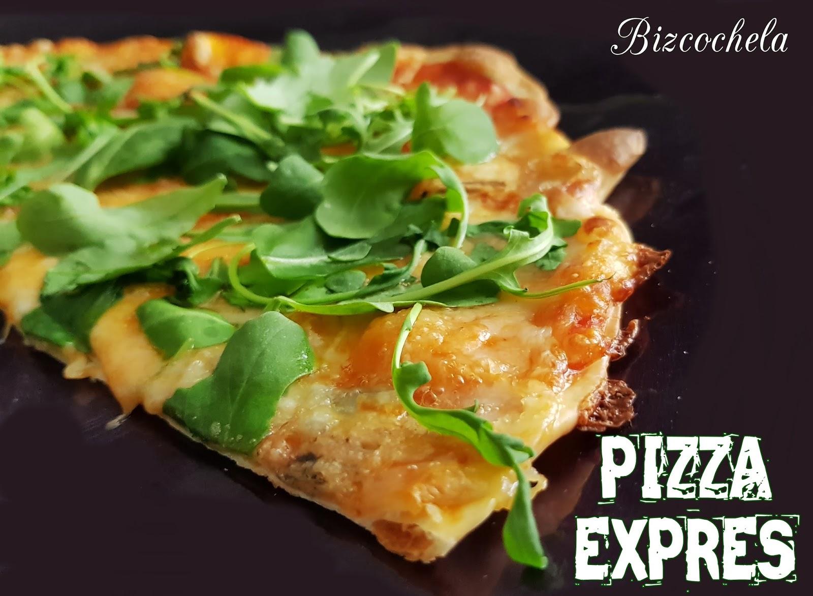 Recetas y a cocinar se ha dicho pizza expres en 10 for Cocinar en 10 minutos