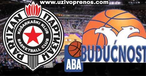 Partizan - Budućnost LIVE PRIJENOS ONLINE