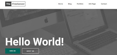 The Freelancer Responsive Blogger Templates