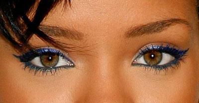 Rihanna Eye Colour