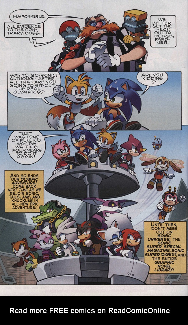 Read online Sonic The Hedgehog comic -  Issue #242 - 24