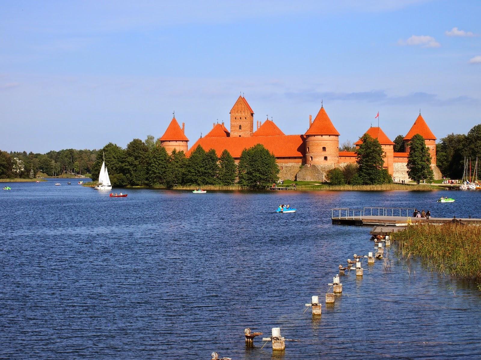 The wonderful brick Trakai Island Castle