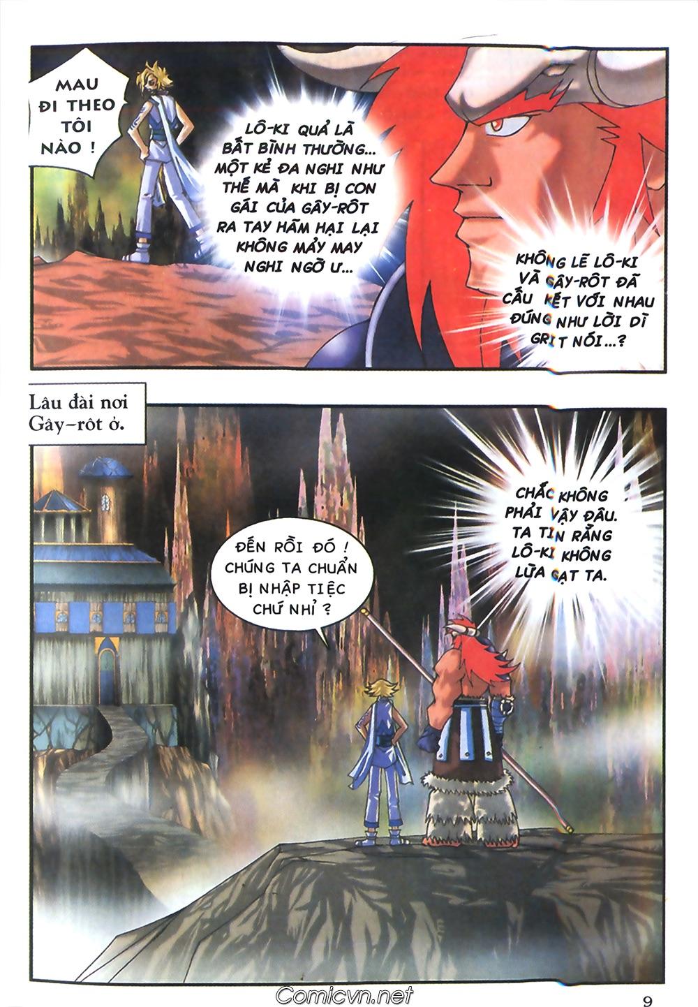 Thần thoại Bắc Âu - Chapter 41: Cha con nhà Gây rôt - Pic 10