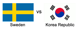 sweden vs korea republic world cup 2018