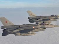 Jet Angkatan Udara Turki Serangan Basis Teroris PKK di Irak Utara
