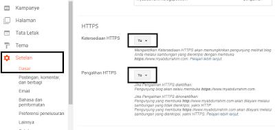 Memasang HTTPS SSL di Blog