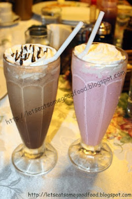 Mochar+Frappe Straberry+Milkshake - Visiting Bag of Beans Tagaytay | Restaurant Reviews