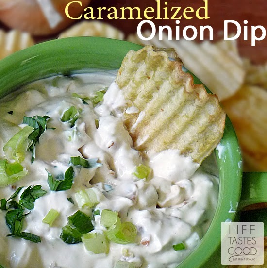 Caramelized Onion Dip | by LIfe Tastes Good