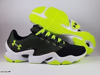 Under Armour Speedform Phenom Trainer Black Green Premium, toko sepatu basket , jual sepatu basket, basket under armour, UA Speedform, speedform phenom traine low