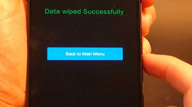 Cómo hacer un Hard Reset Xiaomi MI 5X