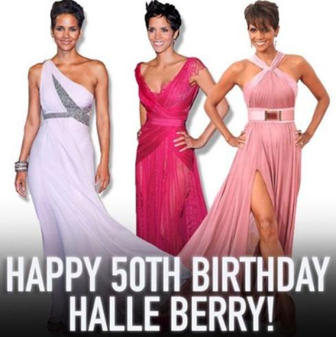America actress  Halle Berry celebrate her 50th birthday