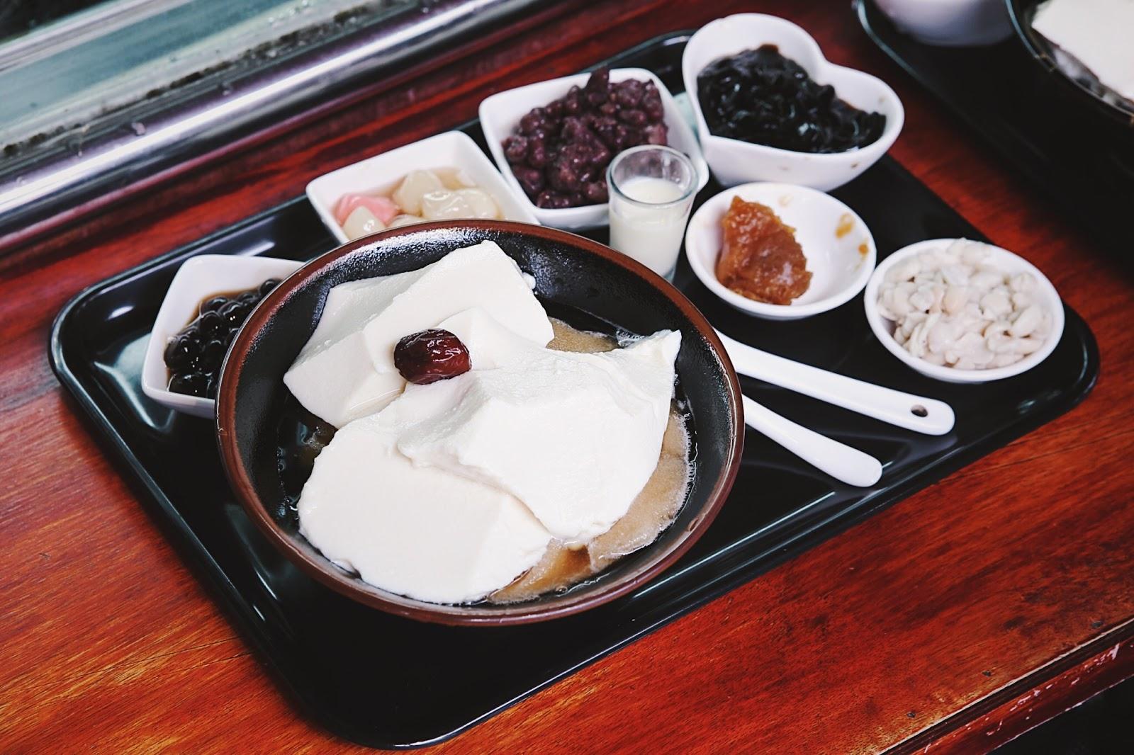 原來豆花|宜蘭市|豐盛實在,如小火鍋般豐盛美好的豆花黑糖冰 - 小食日記
