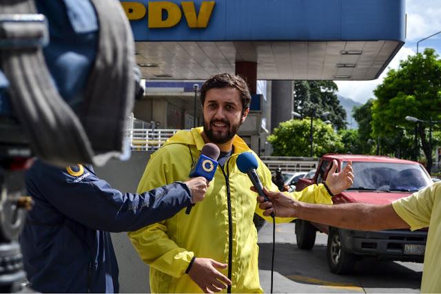 Falta de gasolina mantiene colapsado el municipio de Chacao