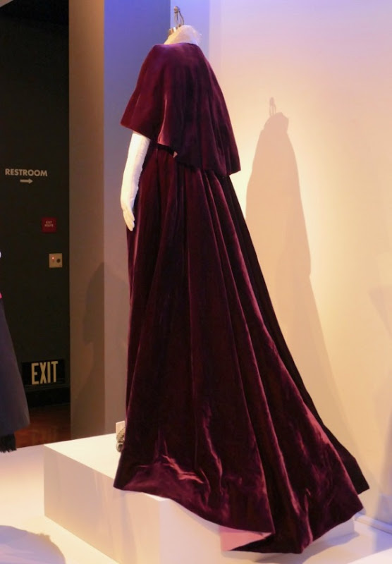 Countess Henrietta Harding Phantom Thread costume back
