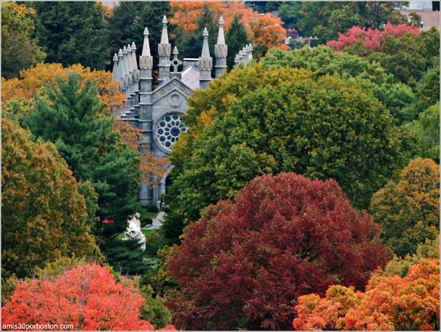 Otoño en Boston - Mount Auburn Cemetery, Cambridge