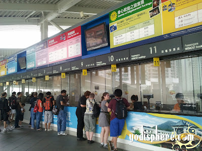 Cable cars ticketing counters