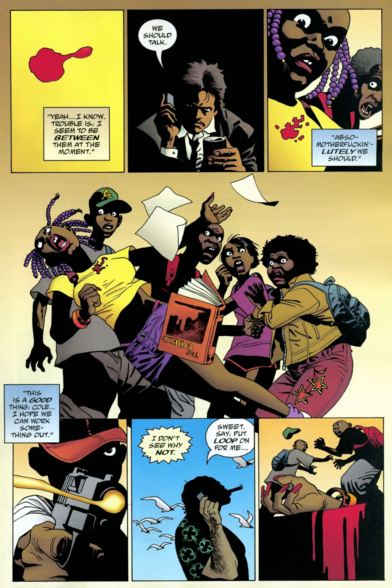 Read online 100 Bullets comic -  Issue #90 - 21