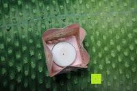 Box mit Kerze: 50pcs Love Heart Laser Wedding Favor Gift Box Kartonage Schachtel Bonboniere Geschenkbox Hochzeit (Pink)