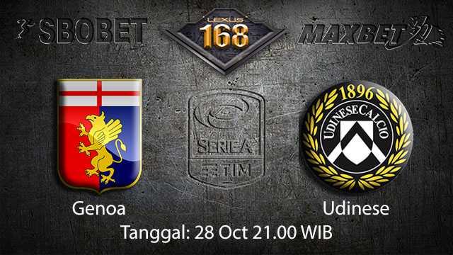 Prediksi Bola Jitu Genoa vs Udinese 28 October 2018 ( Italian Serie A )