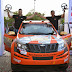 Top 3 positions for Team Mahindra Adventure at K 1000 Rally 2014