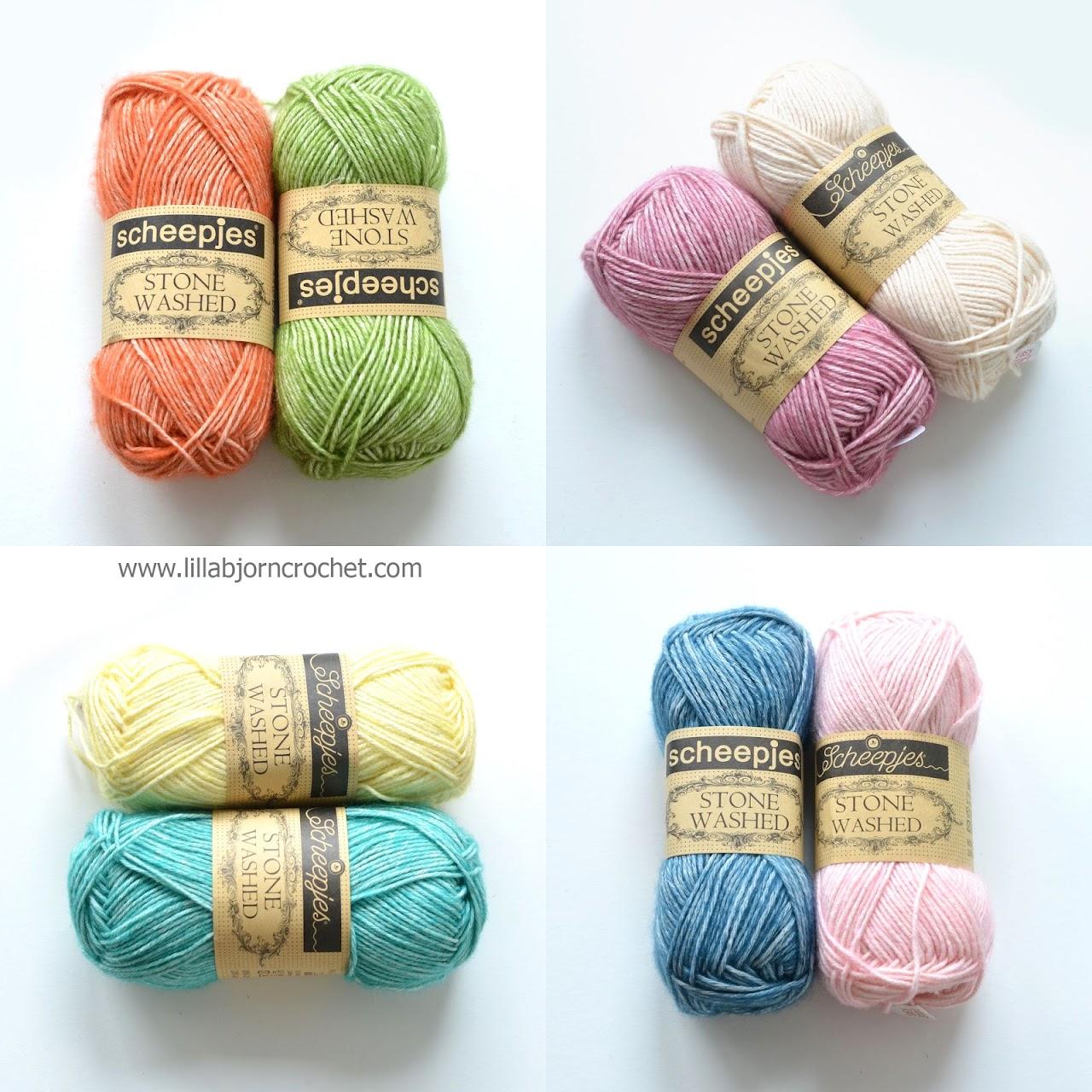 Stone Washed yarn by Scheepjes