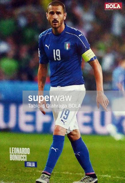 Leonardo Bonucci Italy 2016