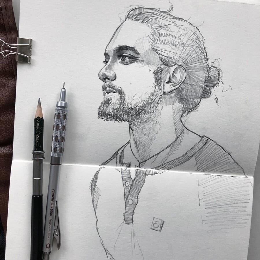 02-Florian-Erb-Minimalist-Sketches-www-designstack-co
