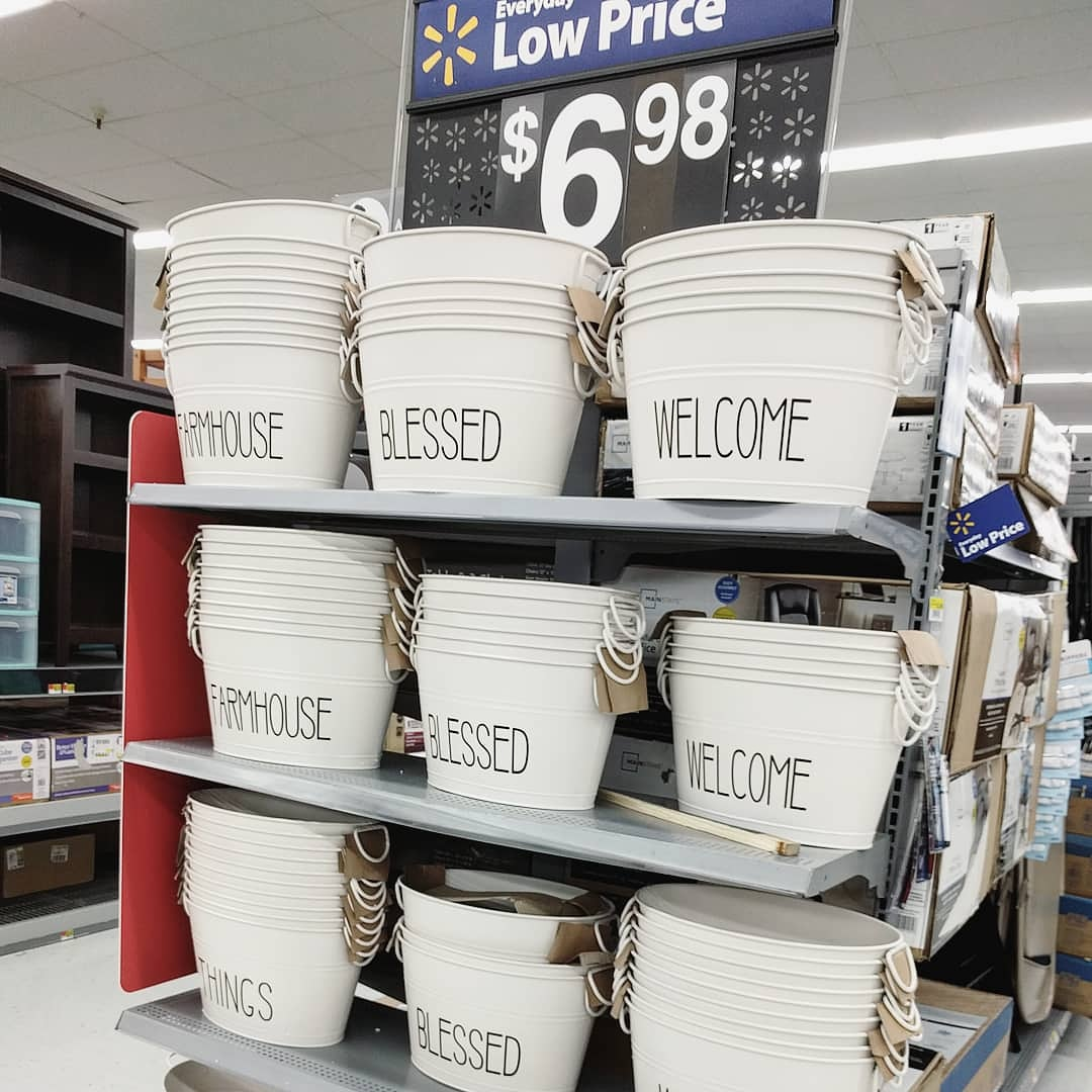 Pinch Of Ginger: Farmhouse Decor At Walmart
