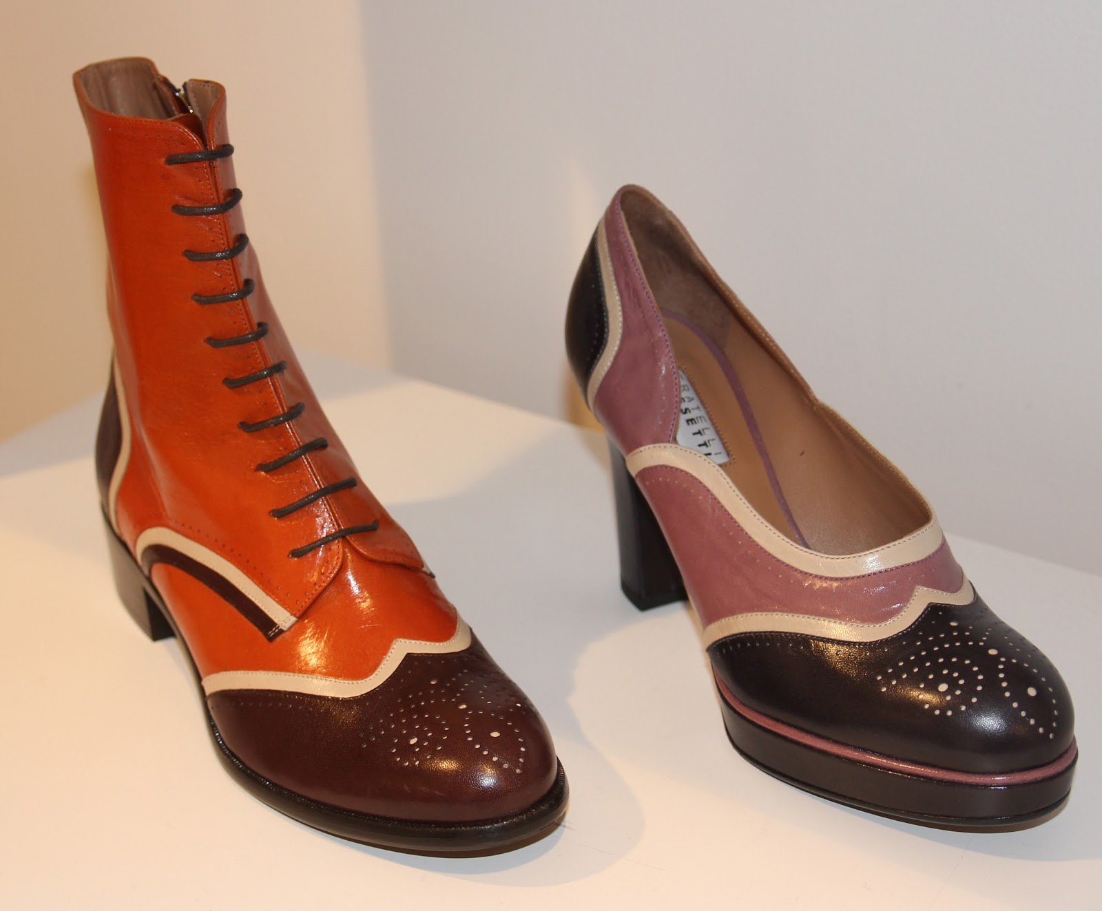 1f65b86ff53 ... in the terrific sophisticated and polished collections of footwear- for  men/women- that we recently previewed -by the Italian masters-Fratelli  Rossetti.