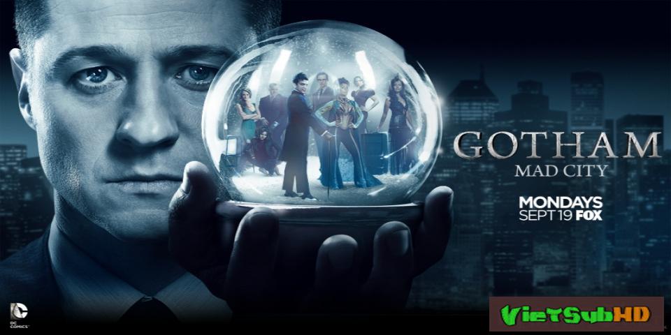 Phim Thành Phố Tội Lỗi (phần 3) Tập 14/22 VietSub HD | Gotham (season 3) 2016