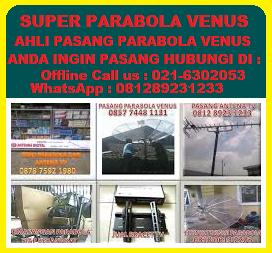 Ahli Pasang Parabola Bebas Iuran Cipondoh || Pasang Antena UHF Cipondoh