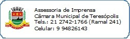 Nota Oficial Câmara Municipal de Teresópolis