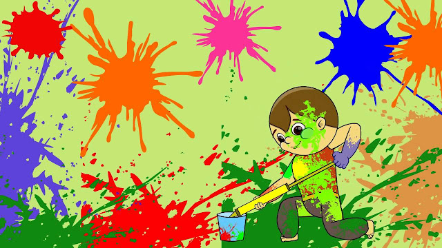 Happy Holi Wallpaper In HD