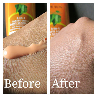 LOTUS HERBALS 3-in-1 MATTE LOOK DAILY SUNBLOCK SPF 40 REVIEW