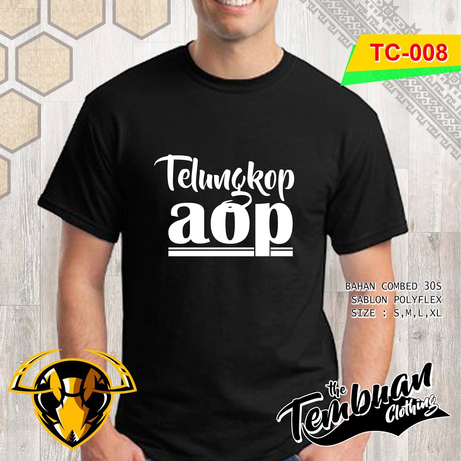 Tembuan Clothing - TC-008 (Telungkop Aop)