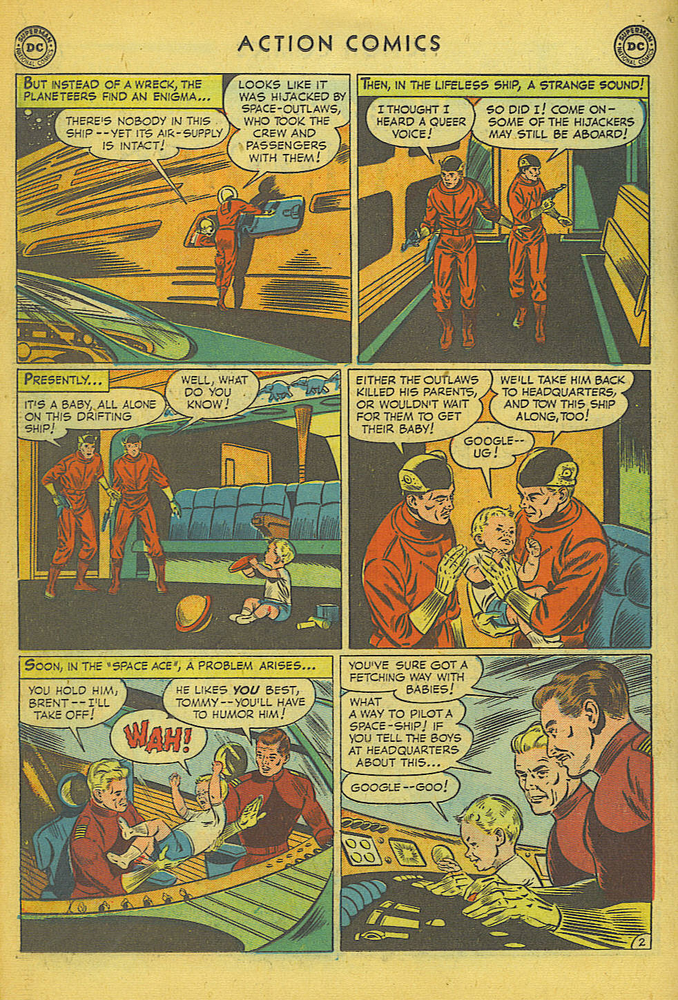 Read online Action Comics (1938) comic -  Issue #157 - 21