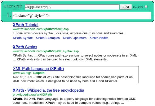 Googland G Wicked Good XPath a faster JavaScript XPath