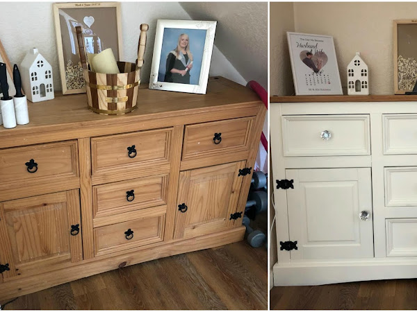Home Updates | Sideboard Upcycle