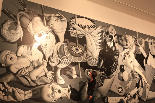 The gallery for --> Guernica High Resolution