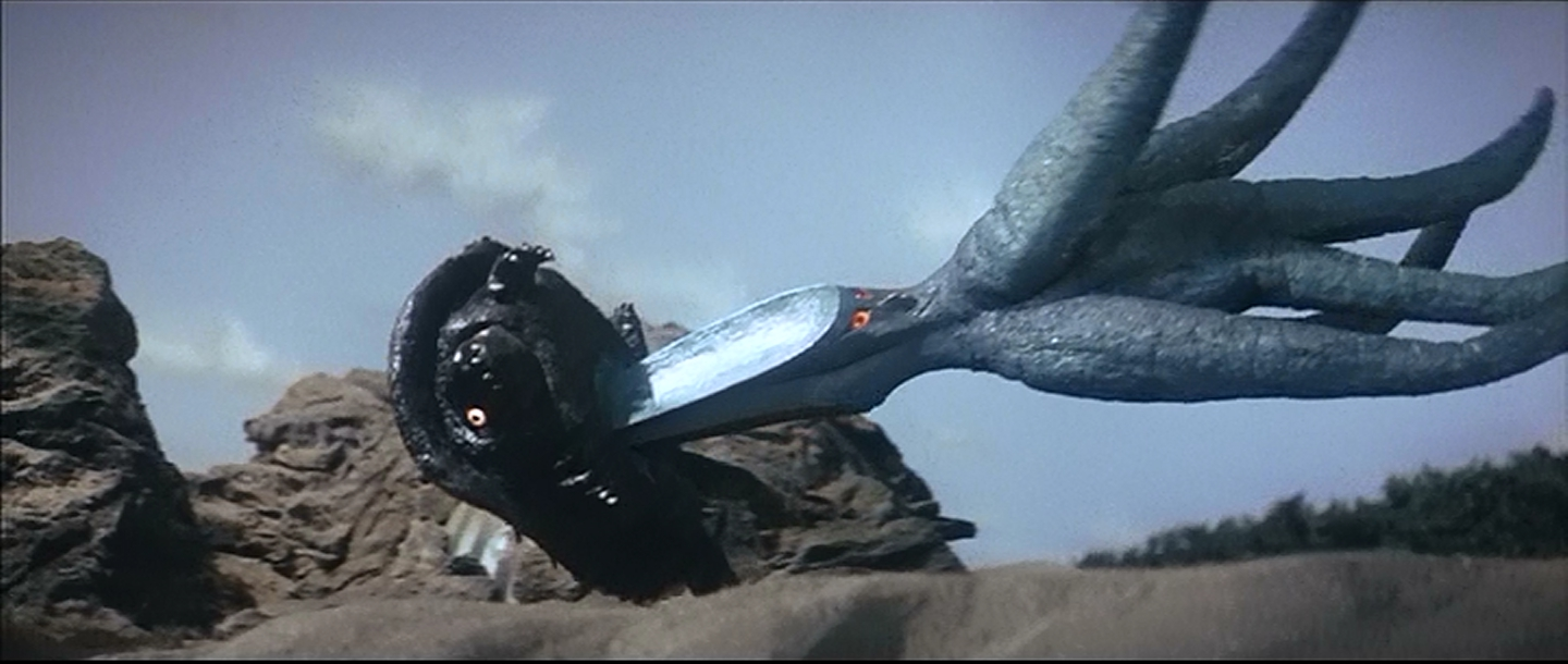 Gamera Flying The Terrible Claw Revi...