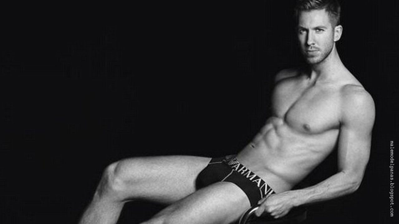 america sensation calvin harris in underwear