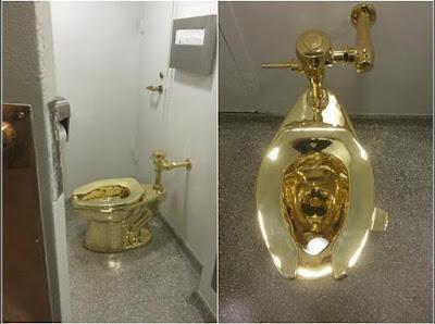 Inilah Toilet Termahal, Terbuat Dari Emas Padat