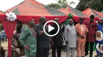 VIDEO: Over 2,000 APGA members defects to PDP in Abia