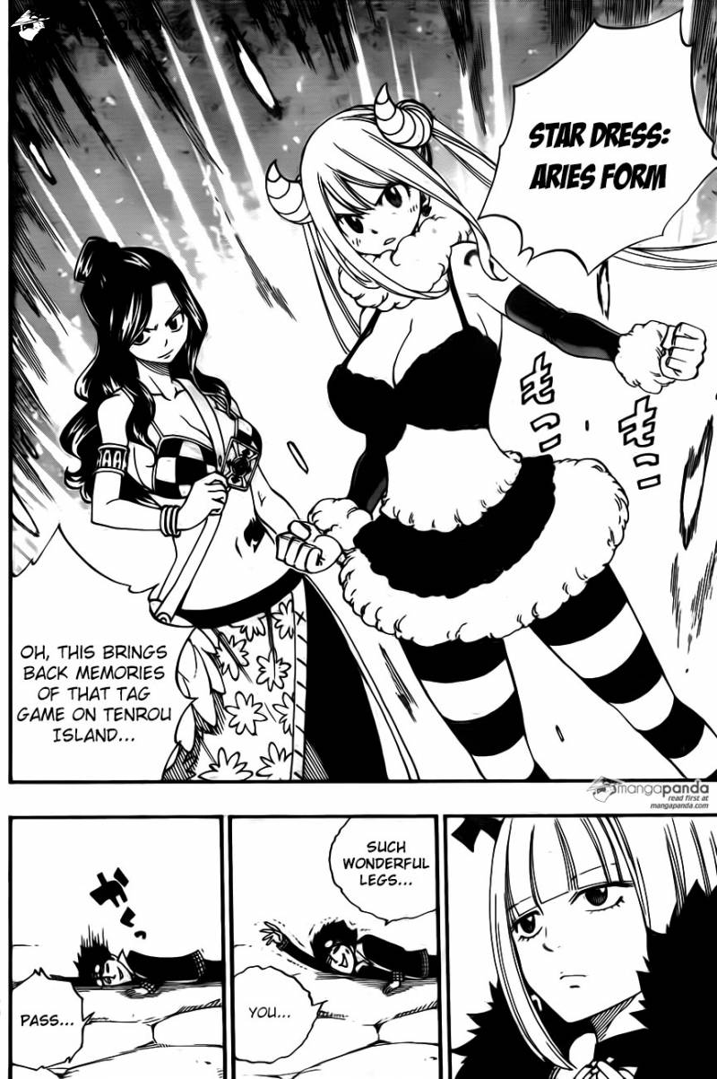Fairy Tail Ch 457: Battle of the Naked