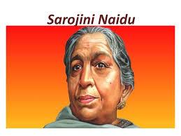 Sarojini Naidu  (ఫిబ్రవరి 13, 1897- మార్చి 2, 1949 )also known as the Nightingale of India -Biography-భారత కోకిల శ్రీమతి సరోజినీ నాయుడు