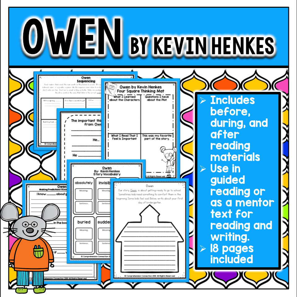 Celebrating the Work of Kevin Henkes | Comprehension Connection ...