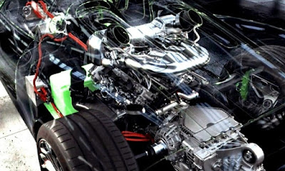 Porsche 918 Spyder engine spesifications