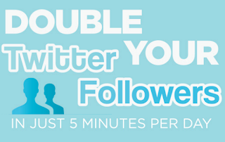 Double Your Twitter Followers in Just 5 Minutes a Day