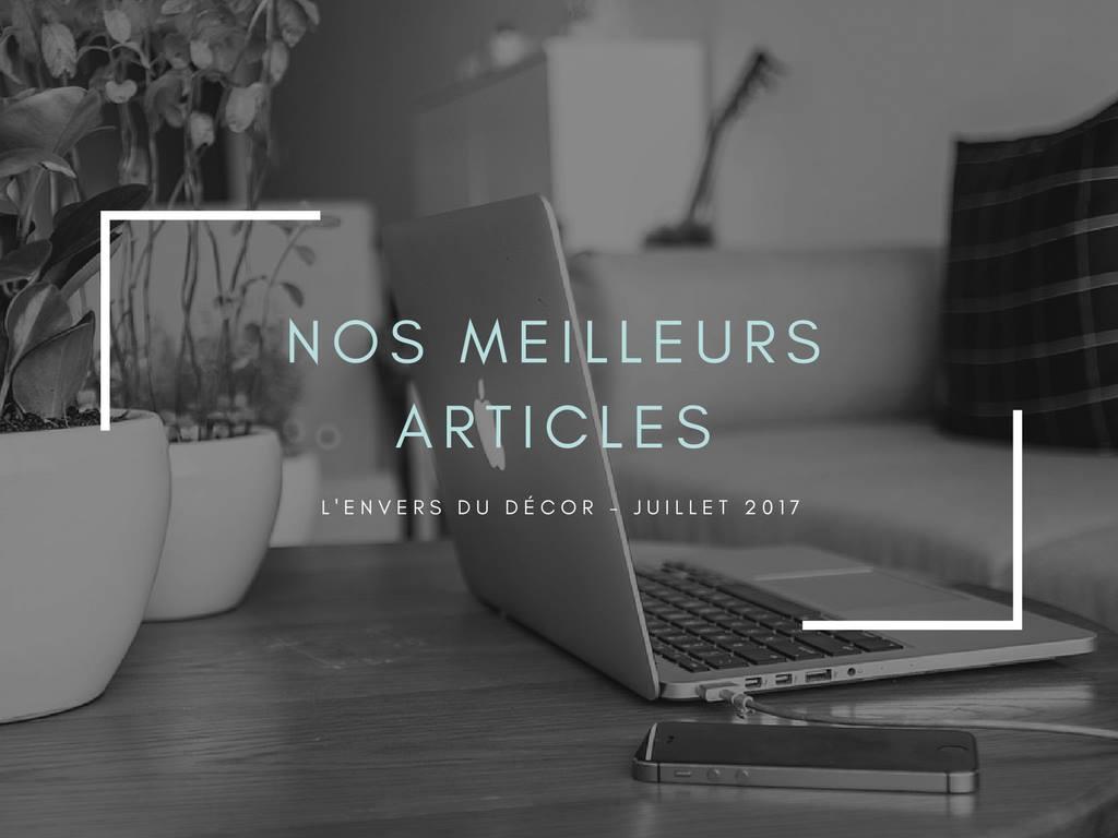 Envers du décor - nos meilleurs articles